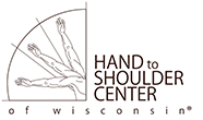 Hand To Shoulder Center Of Wisconsin Logo