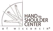 Hand To Shoulder Center Of Wisconsin Logo